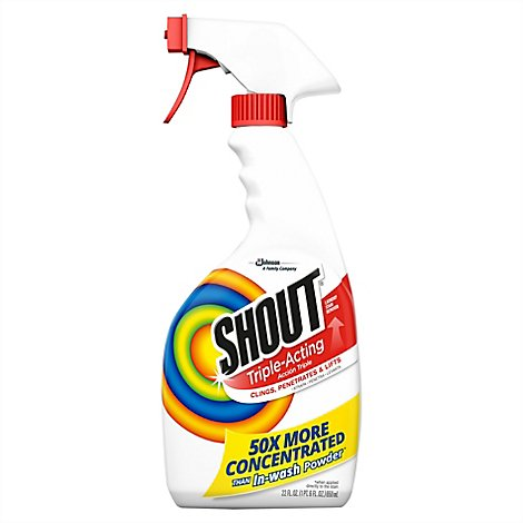 Shout Triple-Acting Stain Remover Spray 30 fl. oz.