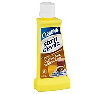 Carbona Stain Devils Stain Remover Coffee Tea Wine & Juice Bottle - 1.7 Fl. Oz.