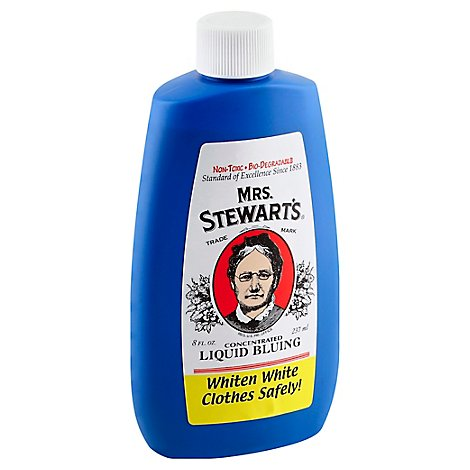 Mrs. Stewarts Liquid Bluing Concentrated - 8 Fl. Oz.