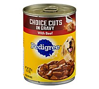 Pedigree Choice Cuts In Gravy Dog Food Adult Wet Beef - 13.2 Oz