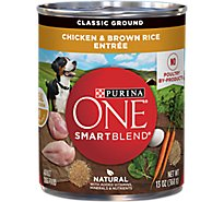 One Dog Food Wet Smartblend Chicken & Brown Rice - 13 Oz