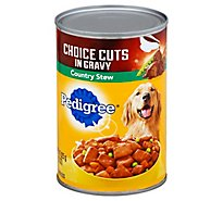 PEDIGREE Dog Food Choice Cuts In Gravy Country Stew Can - 22 Oz