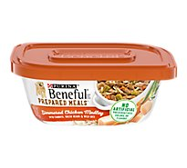 Beneful Prepared Meals Dog Food Simmered Chicken Medley Can - 10 Oz
