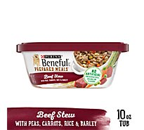 Beneful Prepared Meals Dog Food Beef Stew Can - 10 Oz