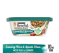 Beneful Dog Food Wet Prepared Meals Savory Rice & Lamb - 10 Oz