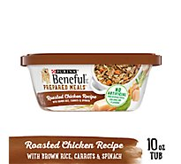 Beneful Prepared Meals Dog Food Roasted Chicken Recipe Can - 10 Oz