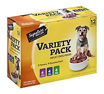 Signature Pet Care Dog Food Adult Variety Pack Box - 12-5.3 Oz