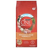 One Dog Food Dry Smartblend Natural Chicken & Rice - 8 Lb