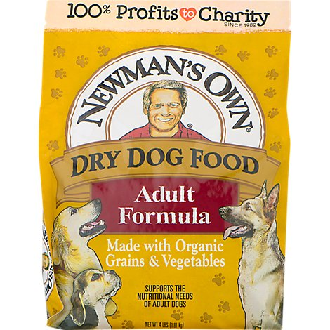 Newmans Own Organics Dog Food Dog Formula Premium Adult Pouch - 4 Lb