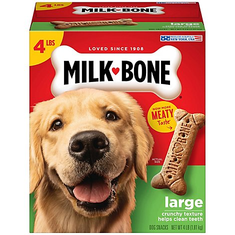 Milk-Bone Dog Snacks Biscuits Large Value Size Box - 64 Oz