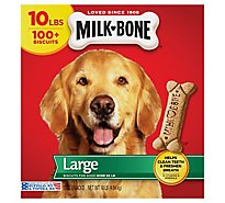 Milk-Bone Dog Snacks Biscuits Large Value Size Box - 10 Lb