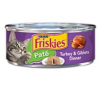 Friskies Cat Food Pate Classic Turkey & Giblets Can - 5.5 Oz