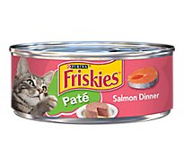 Friskies Cat Food Pate Classic Salmon Dinner Can - 5.5 Oz