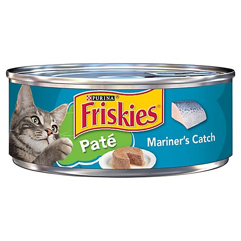 Friskies Cat Food Pate Ocean Mariners Catch Can - 5.5 Oz