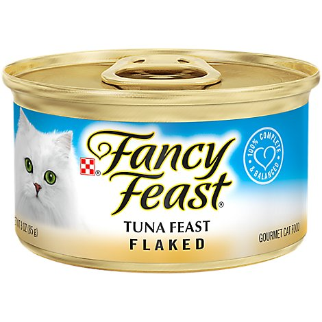 Fancy Feast Cat Food Wet Tuna Flaked - 3 Oz