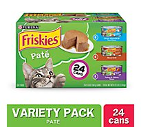 Friskies Cat Food Wet Pate Variety Pack - 24-5.5 Oz