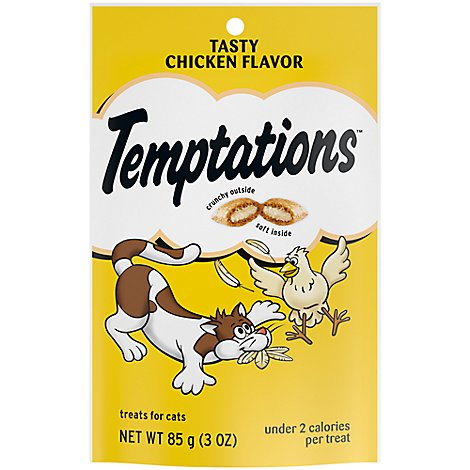 Temptations Treats for Cats Tasty Chicken Flavor Pouch - 3 Oz