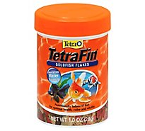 Tetra Fish Food TetraFin Goldfish Flakes Jar - 1 Oz