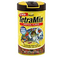 Tetra Fish Food TetraMin Tropical Flakes Jar - 2.2 Oz