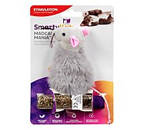 SmartyKat Catnip Toy Refillable Madcap Mouse - Each