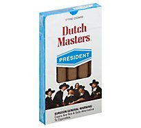 Dutch Masters Presidente Cigars - 5 Count