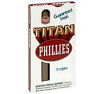 Phillies Titan Cigars - 5 Count