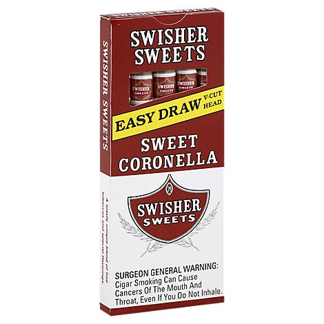 Swisher Sweets Cigars Coronella - 5 Count