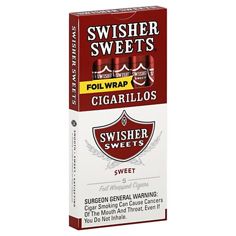 Swisher Sweets Cigarillos - 5 Count