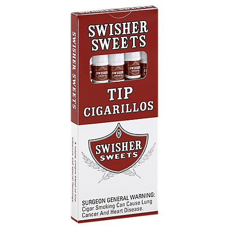 Swisher Sweets Cigarillos Tip - 5 Count