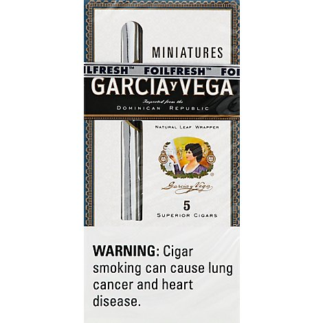Garcia Y Vega Miniature Cigars - 5 Count