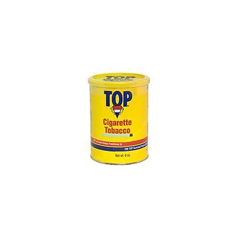 Top Cigarette Tobacco Canister - 6 Oz