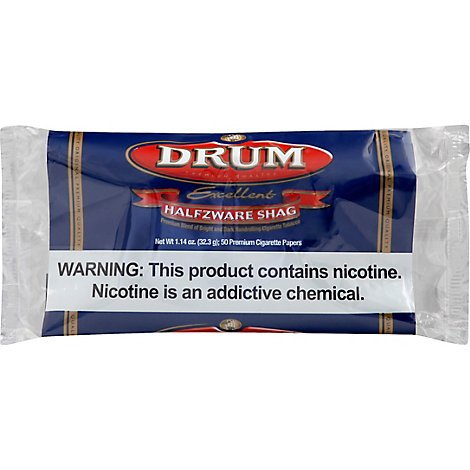 Drum Cigarette Tobacco - 1.41 Oz