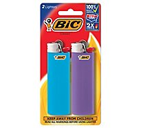 Bic Lighter Classic With Child Guard - 2 Count