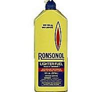 Ronsonol Lighter Fuel - 8 Fl. Oz.