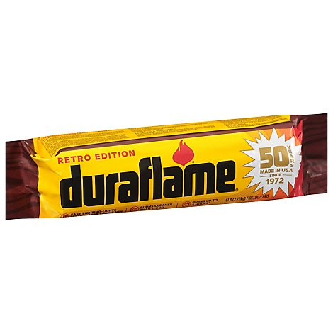 Duraflame Fire Log 4 Hours - 6 Lb