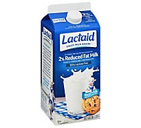 Lactaid Milk Lactose Free Reduced Fat - Half Gallon
