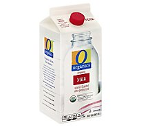 O Organics Organic Whole Milk - Half Gallon