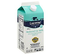 Lucerne Milk Reduced Fat 2% - Half Gallon