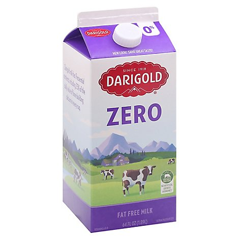 Darigold Fat Free Milk - Half Gallon