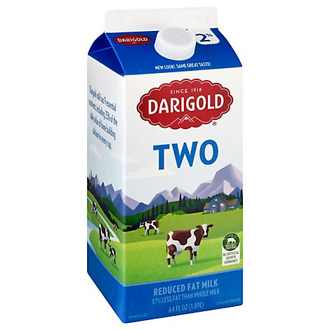 Darigold Milk Reduced Fat 2% - Half Gallon