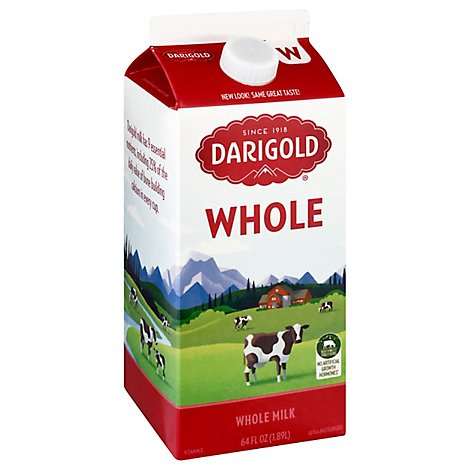 Darigold Whole Milk - Half Gallon