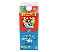 Horizon Organic Milk Reduced Fat With Vitamins A & D - Half Gallon