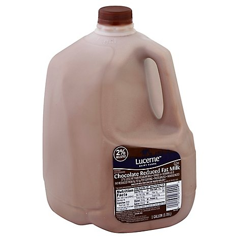 Lucerne Milk Chocolate Reduced Fat 2% - Gallon