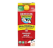 Horizon Organic Whole Milk Plus DHA - Half Gallon