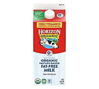 Horizon Organic Fat Free Milk - Half Gallon