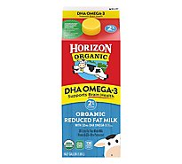 Horizon Organic Milk Reduced Fat 2% DHA Omega 3 Half Gallon - 1.89 Liter
