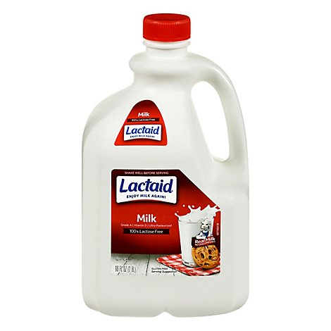 Lactaid Milk Lactose Free Whole - 96 Fl. Oz.