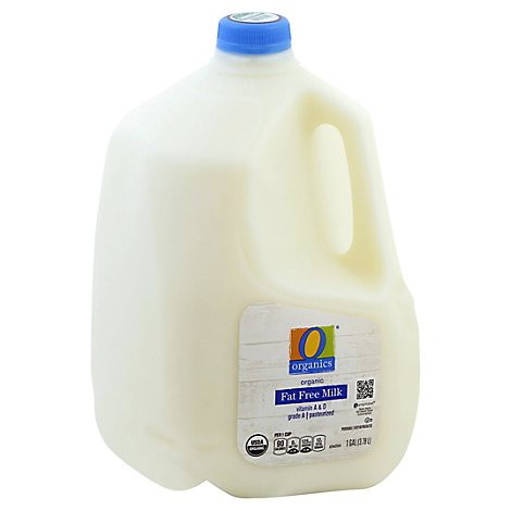 O Organics Organic Fat Free Milk - 1 Gallon