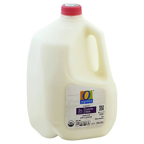O Organics Organic Milk Low Fat 1% Milkfat - 1 Gallon