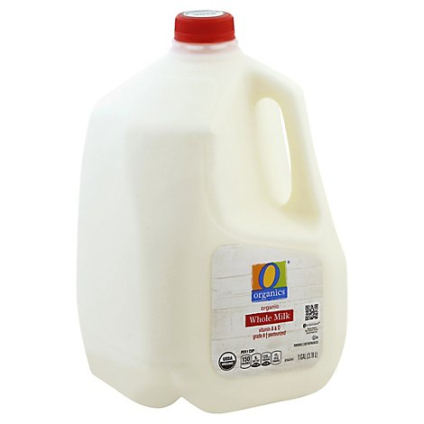 O Organics Organic Whole Milk with Vitamin D - 1 Gallon